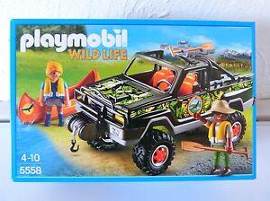 Abenteuer-Pickup  NEU OVP PLAYMOBIL 5558
