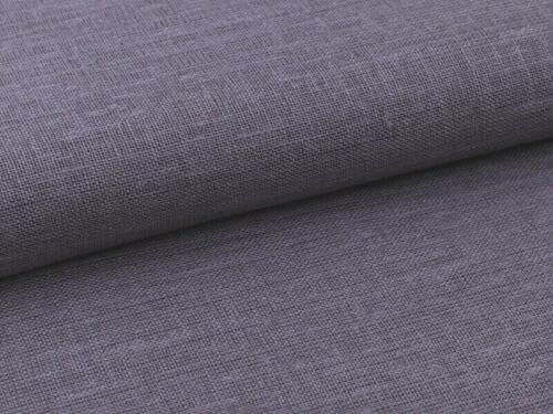 11,98 EUR//M 0,5 M  Stoff Leinen 100/% Stoff Jute Struktur Grau Schwarz