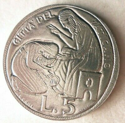 1975 VATICAN CITY 10 LIRE Low Mintage VATICAN BIN C FREE SHIPPING AU