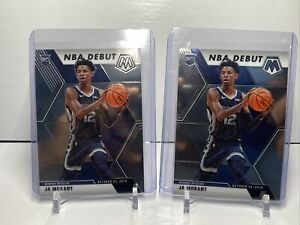2019-20-Panini-Mosaic-Basketball-Ja-Morant-Rookie-Lot-2-Grizzlies-PSA