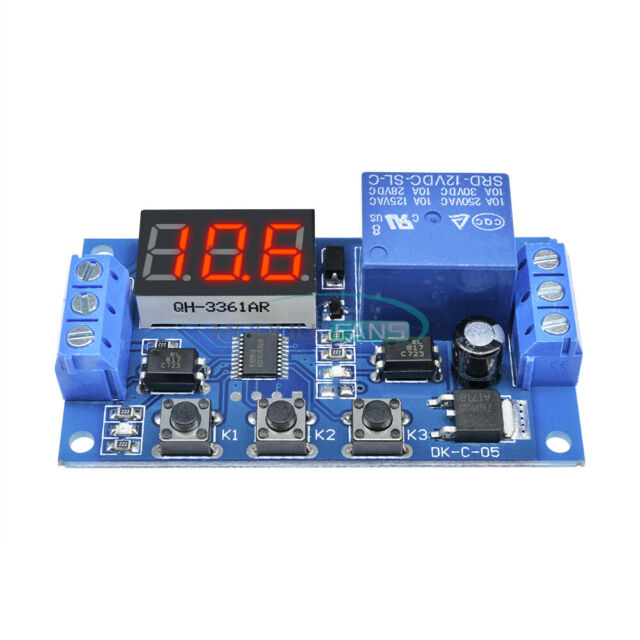 12v Led Automation Delay Timer Control Switch 3