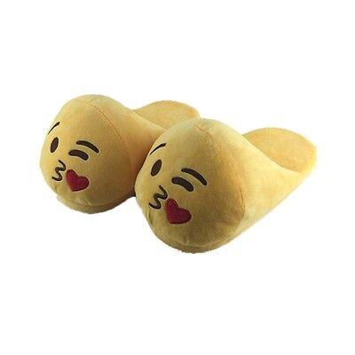 Calde Pantofole Emoticon Ciabatte Emoji in morbido peluche Unisex