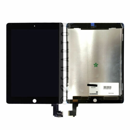 White iPad Air 2 A1566 A1567 LCD Display Digitizer Touch Screen Assembly Black