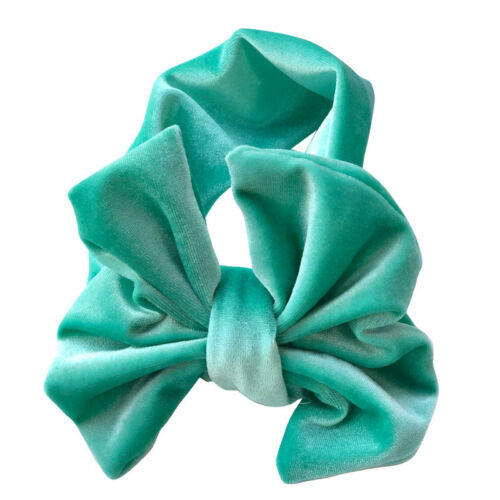 Children Pleuche Bow Headband Hair Headwear For 0 To 4 years Old Baby Gift