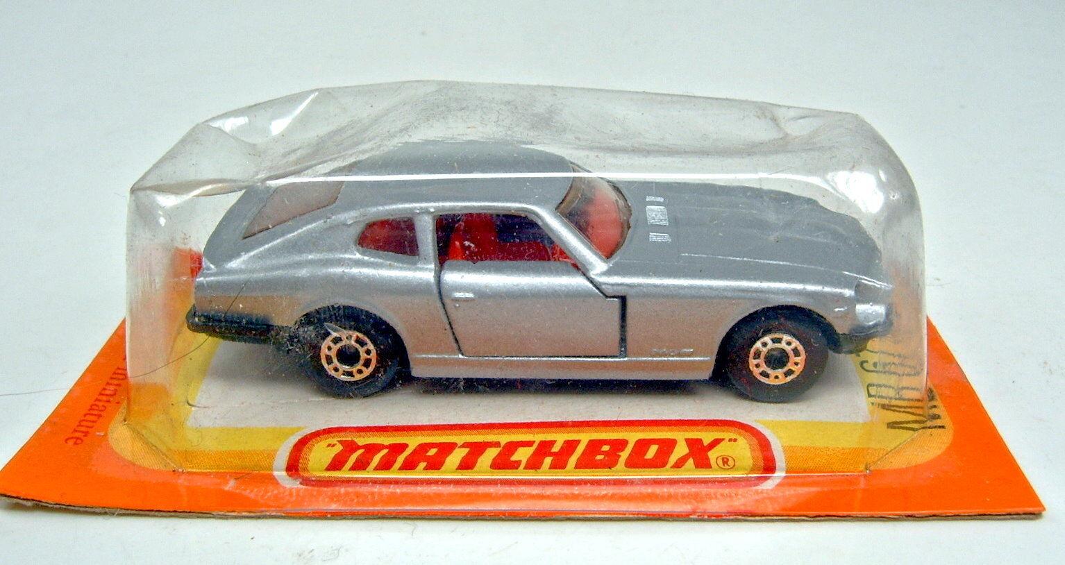 edición limitada en caliente Matchbox SF nº nº nº 67c Datsun 260z gris plata puertas abiertas en francés Box  mejor reputación