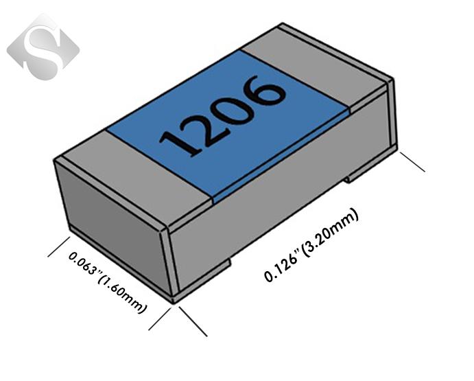 50 x RESISTENZA 1//8W  10K 5/% SMD 50 pezzi
