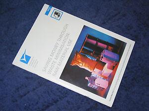 RAW MATERIAL USE SAVING MONEY THROUGH WASTE MINIMISATION ETBPP 1996 efficiency - Carr-Bridge, Highland, United Kingdom - RAW MATERIAL USE SAVING MONEY THROUGH WASTE MINIMISATION ETBPP 1996 efficiency - Carr-Bridge, Highland, United Kingdom