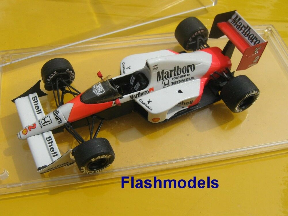 1 43 McLaren Honda MP4 5 1989 A. Prost World C. UK GP TAMEO handbuilt modelcar