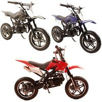 Kids Performance 49cc 2-stroke Gas Power Mini Pocket Dirt Bike Free Shipping