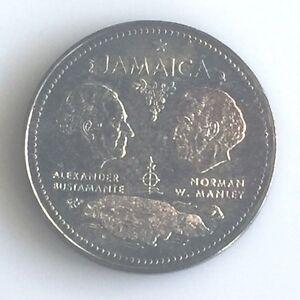 Jamaica 1972 Ten Dollars Proof Coin Km60 Outstanding