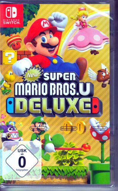 New Super Mario Bros. U Deluxe Nintendo Switch Spiel NEU