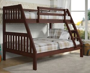 Modern Twin Over Full Bunk Bed Ebay