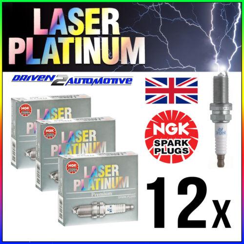 12 X NGK BKR 6 equp Láser Platino Bujías precio al por mayor envío rápido