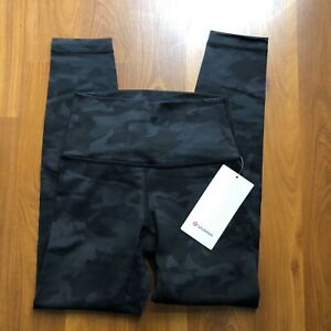 """Wunder Under High-Rise Tight 25"""" Full-On Luon, Incognito Camo, Size 4"""