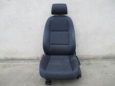Fahrersitz Sitz vorne Audi A4 B6 8E Sitze Ausstattung Stoff blau Maritim