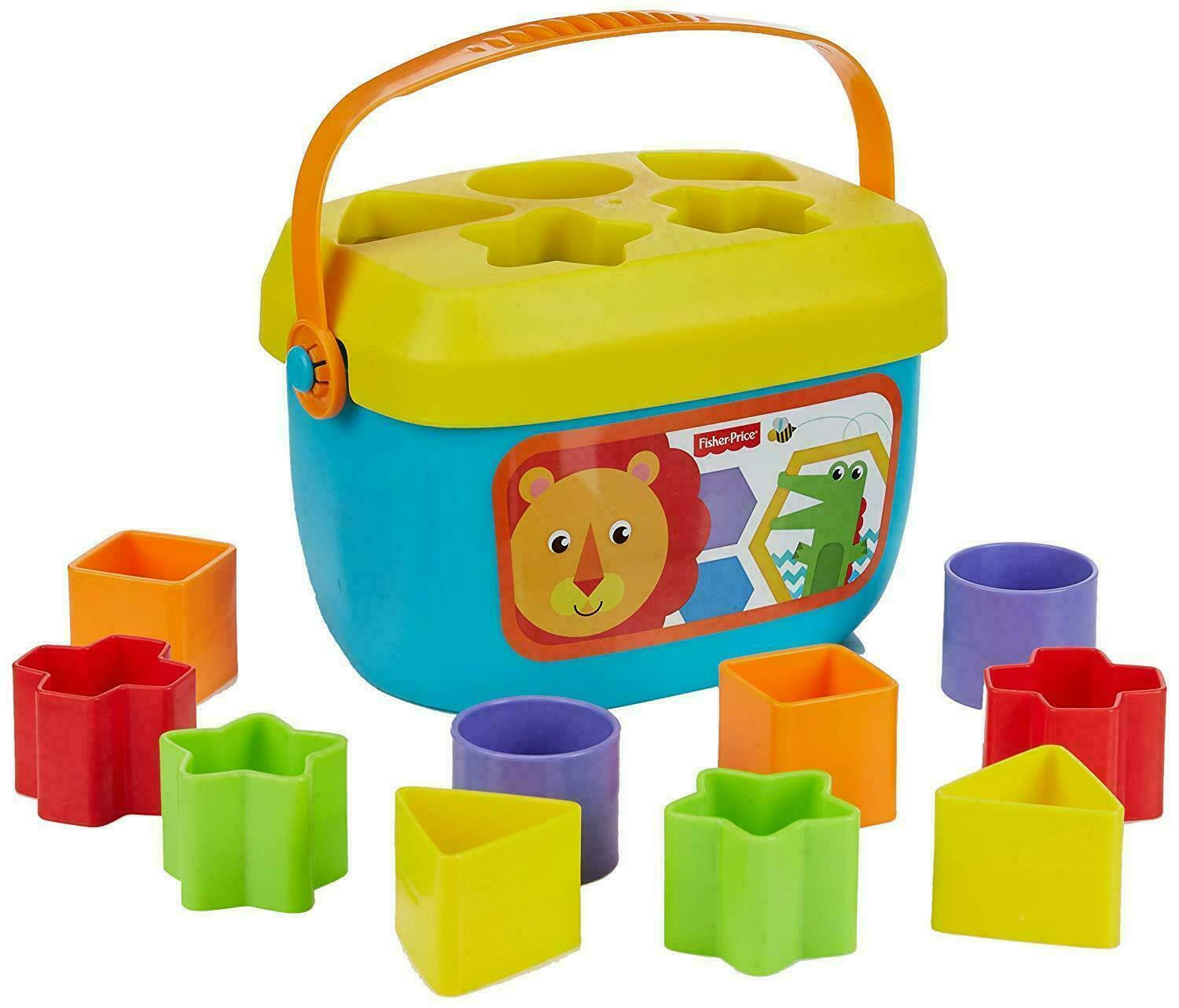Baby Shape Sorter Toy Fisher-Price FFC84 Babys First Blocks Suitable for 6 Months Plus