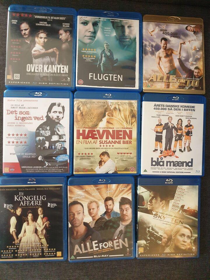 Blu-ray 20 kr pr. Stk., Blu-ray, andet