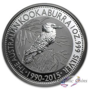 2012 Australia 1 oz Perth Mint .999 Silver Kookaburra coin fresh from mint roll