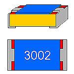 SMD-resistencia 30 kOhm 1/% 0,125 W forma compacta 0805 utilizarse sin cinturón