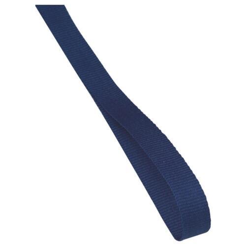 Médaille ruban//cordon bleu or avec clip de grande valeur 22 mm large