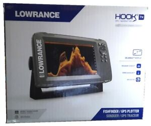 Details about Lowrance Hook2 7x CHIRP GPS Plotter CHIRP Fishfinder &  SplitShot HDI Transducer