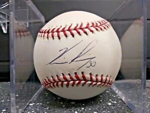 Horacio Ramirez autographed Rawlings Official Major League Baseball