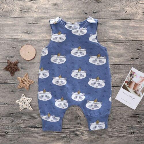 2019 New Baby Newborn Kids Toddler Boys Girls Clothes Sleeveless Short and Long