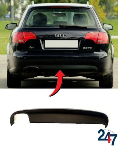 NEW AUDI A4 B7 AVANT 2005-2008 REAR BUMPER LOWER SPOILER WITH EXHAUST HOLE