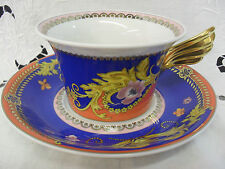 Rosenthal designer Versace PRIMAVERA tea cup & saucer up to 6 available