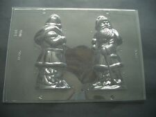 XL/19CM HIGH 2 ON 1 SANTA/FATHER CHRISTMAS CHOCOLATE MOULD/MOULDS/3-D/CHILDRENS