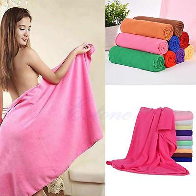 70x140cm Absorbent Microfiber Bath Beach Towel Shower Drying Washcloth Swimwear