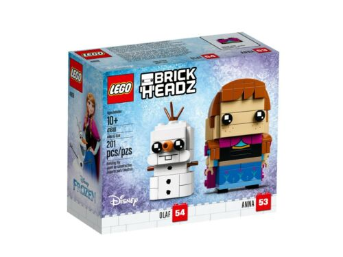 LEGO® Disney™ Nr NEU /& OVP 53+54 BrickHeadz 41618 Anna /& Olaf