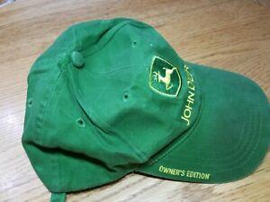 John Deere Owner's Edition Green Cap Nothing Runs Like a Deere Strapback