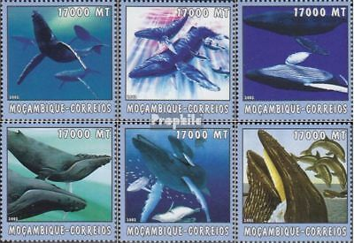 Mozambique 2680-2685 Unmounted Mint Mozambique Never Hinged 2002 World Of Marine Preventing Hairs From Graying And Helpful To Retain Complexion Africa