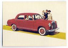 ad1452 - Mercedes-Benz 190 D car - postcard