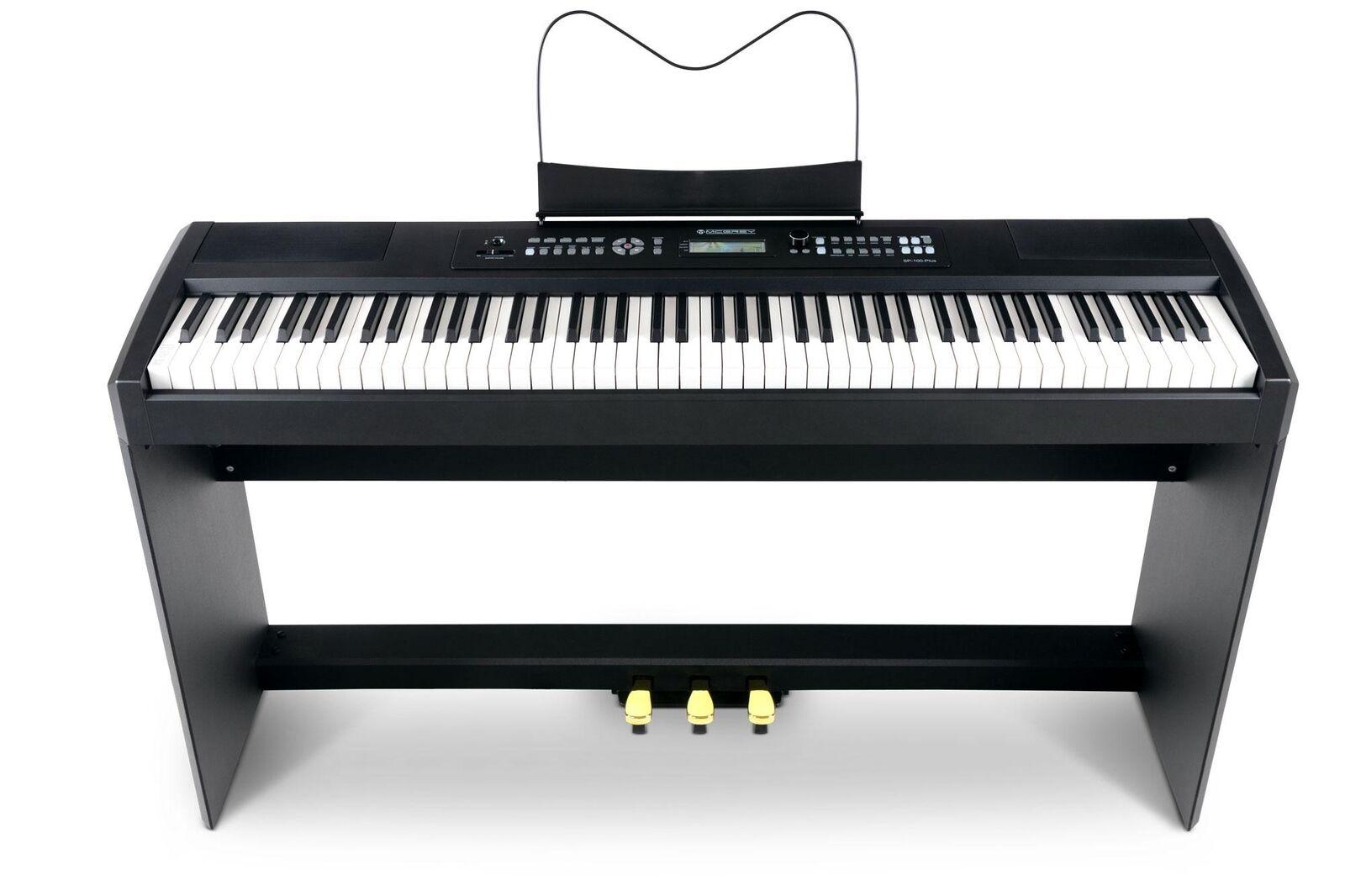 Starkes Compact Piano mit 88 Hammer-Tasten Anschlagdynamik & passendem Unterbau