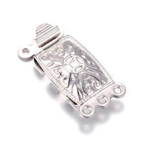10-Sets-304-Stainless-Steel-Box-Clasps-Carved-3-Strand-Closure-Findings-20x10mm
