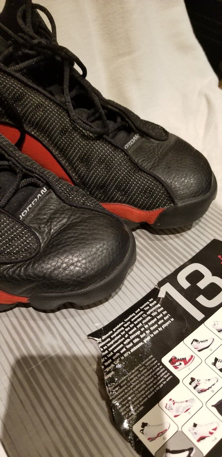 Nike Air Jordan  RETRO 13 SIZE 10 BRED BRED BRED BLACK RED ca61ef