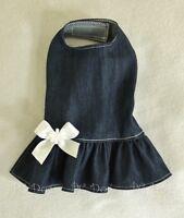 Xxxs Denim Jean Dog Dress Clothes Pet Apparel Clothing Teacup Pc Dog®
