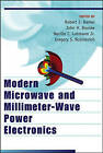 Modern Microwave and Millimeter-Wave Power Electronics by John Wiley and Sons Ltd (Hardback, 2005)