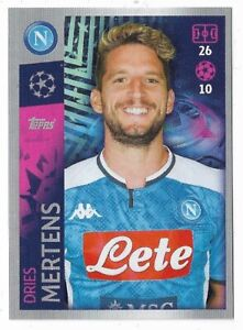 Dries Mertens Champions League 19 20 2019 2020 Sticker 364 SSC Neapel
