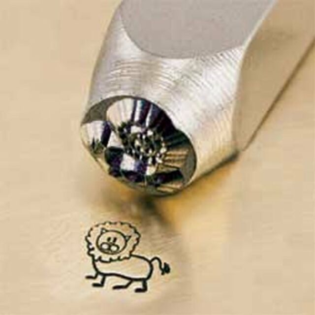 Metal Design Stamp By Impressart 6mm Lion Leo
