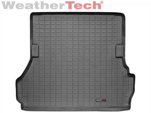 WeatherTech Cargo Liner for Land Cruiser//LX 470 Black No Jump Seats Large
