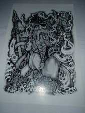 Scandinavian Swedish Norwegian Viking Odin Poster Print by Micah Holland #5026