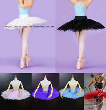 NEW BALLET COSTUME Lace up Germanic Organdy Graduated short tutu Velvet flowers