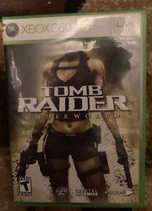 Tomb Raider Underworld Xbox 360 Preowned Complete 788687200585 Ebay