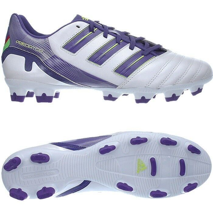 9a1961268de8 Adidas Predator Absolion TRX FG men's football boots white purple NEW