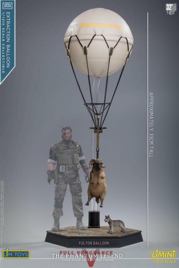 LIMTOYS 1 12 Alloy Equipment Old Snake Balloon Small Scene W Lamb Puppy Toys