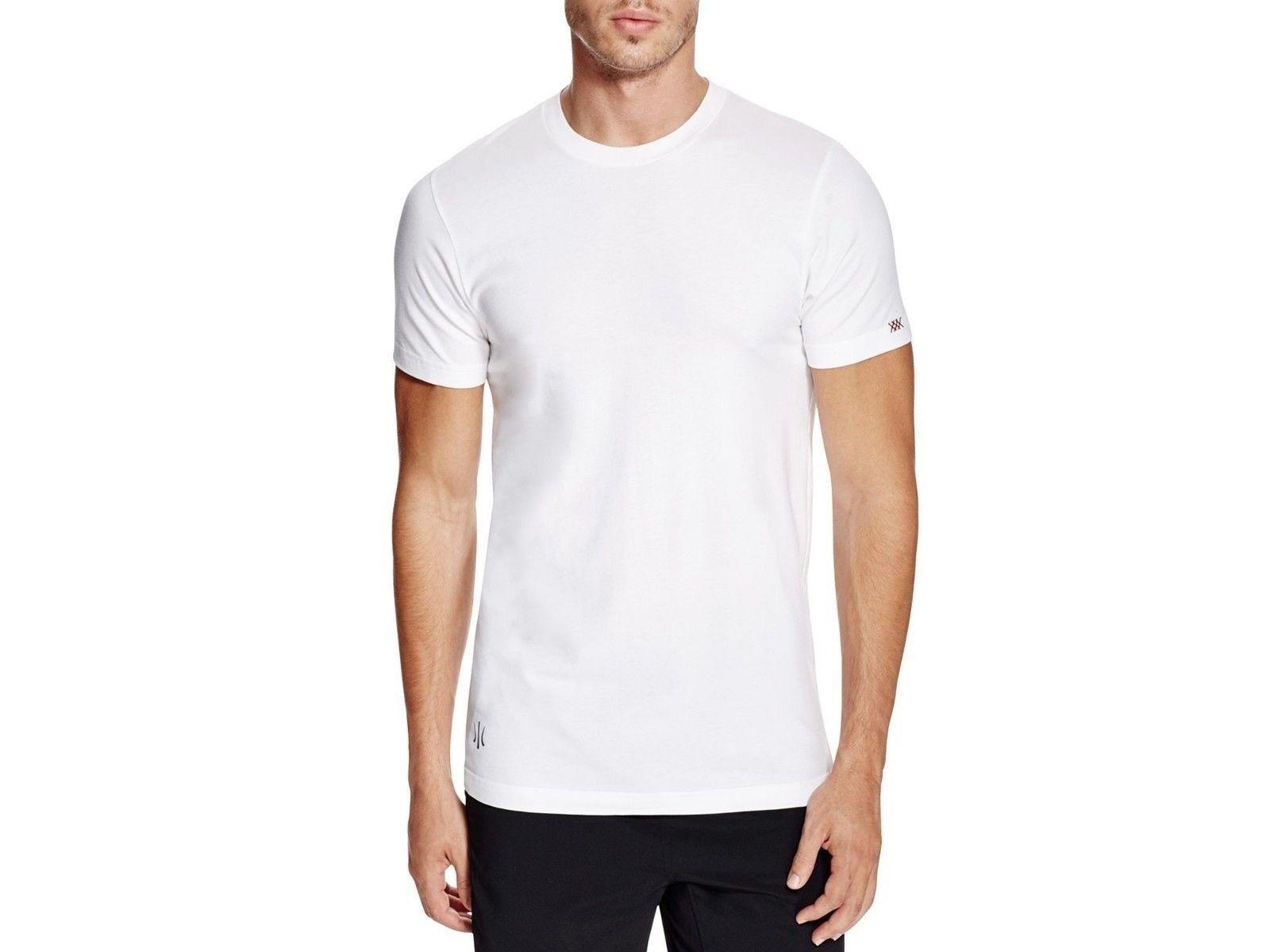 Men's Everyday Pima Cotton T-Shirt White Element Tee NWT Size Small