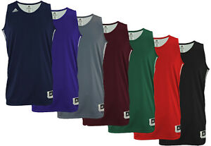 Details about Adidas Men's Reversible Basketball Practice Jersey, Color Options
